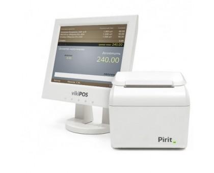 Онлайн касса Пирит 2Ф работает с любым фискальным накопителем.