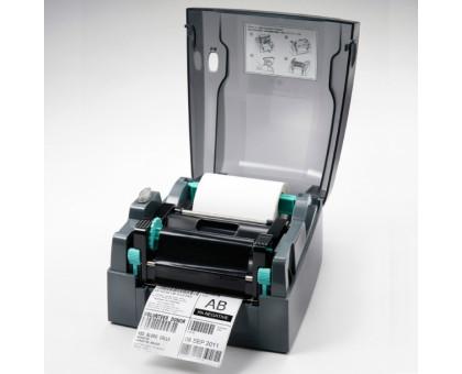 G500UES -  термо и термотрансферный принтер, 203 dpi, 5 ips, (дюймовая втулка риббона), USB+RS232+Ethernet