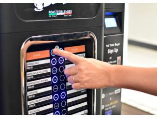 QR-код может отображаться на торговом автомате