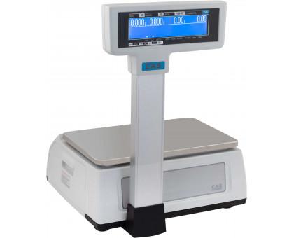 Весы CAS CL3000-Р. Максимальный вес на выбор: 6 кг, 15 кг