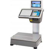 Весы CAS CL5000-D - печать на стойке