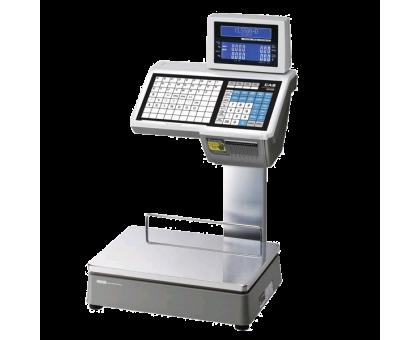 CAS CL5000-D весы с чекопечатью на стойке