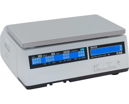 Весы CAS CL5000J-IB. Максимальный вес на выбор: 6 кг, 15 кг, 30 кг