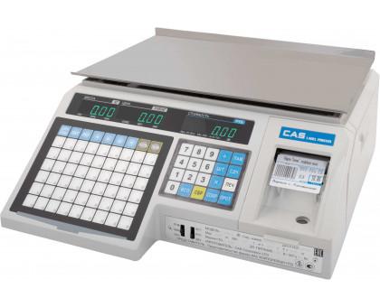 Весы торговые с печатью этикеток CAS LP-(V 1.6), максимальный вес: 15 кг или 30 кг