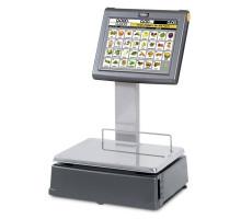 Весы самообслуживания DIBAL D-955 с сенсорным экраном 15 дюймов