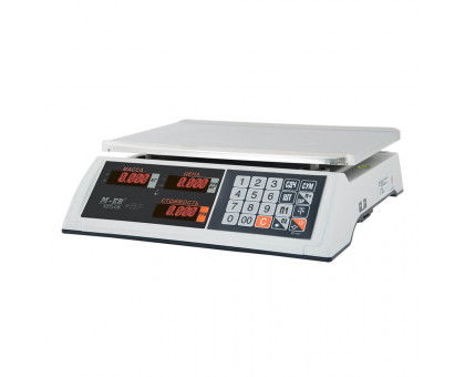 """Торговые настольные весы M-ER 327 AC """"Ceed"""" 15 кг или 32 кг"""
