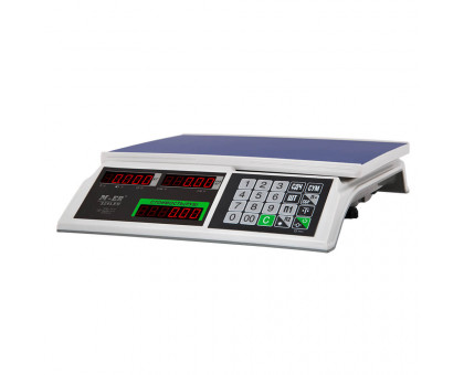"""Торговые весы M-ER 326 """"Slim"""" LED или LCD на 15 кг или 32 кг"""