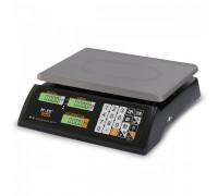 """Торговые настольные весы M-ER 327 AC """"Ceed"""" LCD Черные - 15 кг, 32 кг"""