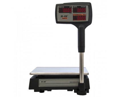"""Торговые весы M-ER 327 ACPX """"Ceed'X"""" - 15 кг или 32 кг, LCD или LED, Черные или белые"""