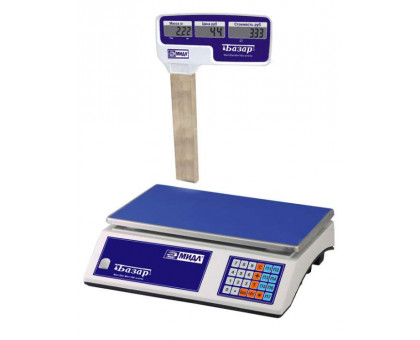 Весы торговые Базар 2 (У) - 6 кг, 10 кг, 15 кг, 30 кг