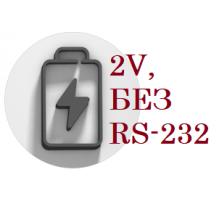 Аккумулятор для весов АТОЛ MARTA (2V, БЕЗ RS-232)